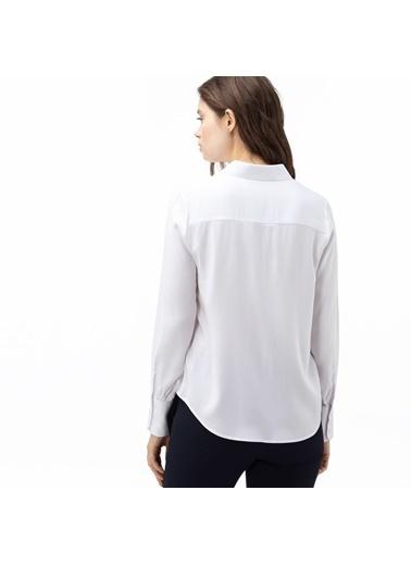 Lacoste Kadın  Gömlek CF0012.12A Beyaz